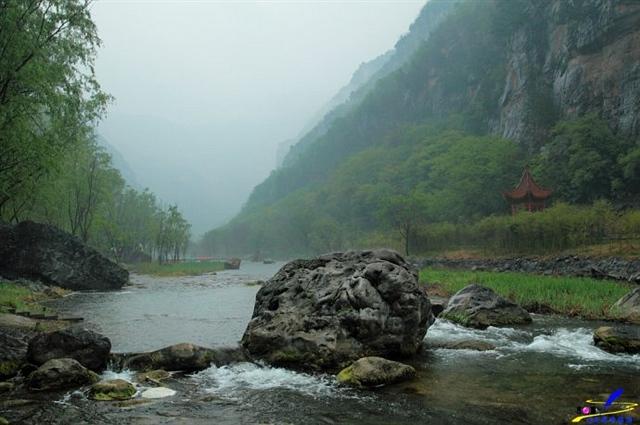 青天河,焦作深山的好风光