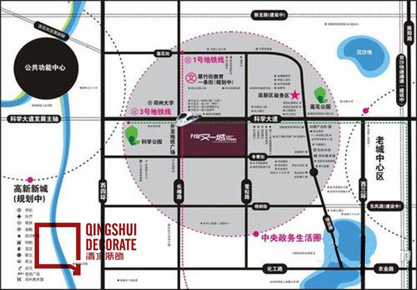 郑州高新区规划图2020